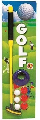 HAWK Golf Set for Kids & Adults too - Realistic Golf Game Set for Both Indoor & Outdoor use Golf Kit