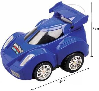 Mitashi Dash Rechargeable R/C Programmable Stunt Car(Blue) at flipkart