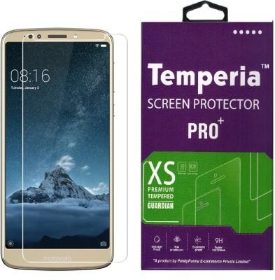 Temperia Tempered Glass Guard for Motorola Moto E5 Plus(Pack of 1)