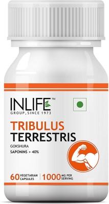 Inlife Tribulus Terrestris Gokshura (60 Veg Capsules)