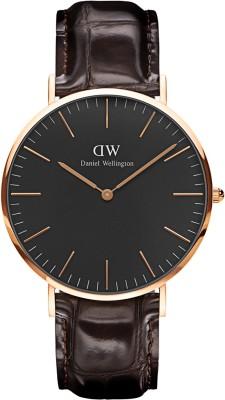 Daniel Wellington DW00100128 Classic Black York Analog Watch  – For Men