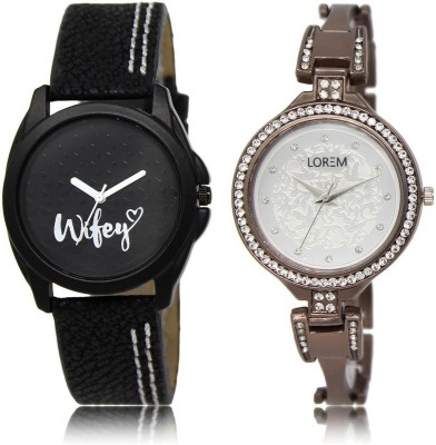 LOREM BG234 236 Stylish Best Offer Analog Watch   For Women LOREM Wrist Watches