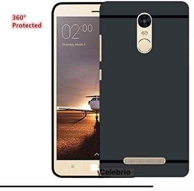 Mobicover Back Cover for Mi Redmi Note 3 Black