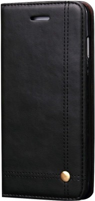 Cock Flip Cover for Apple iPhone 6, Apple iPhone 6s(Black, Holster, Artificial Leather)