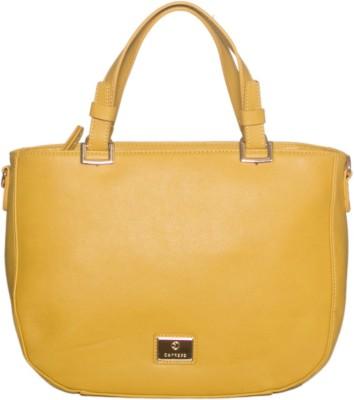 Caprese Women Yellow Satchel