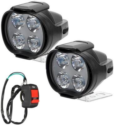 Autosky LED Fog Light For Universal For Car Universal For Bike