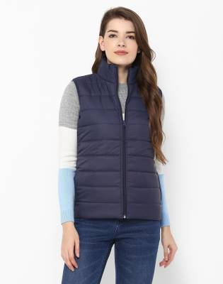 Provogue Sleeveless Solid Women's Jacket