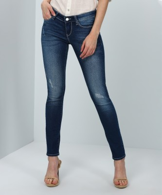 Lee Slim Women Blue Jeans