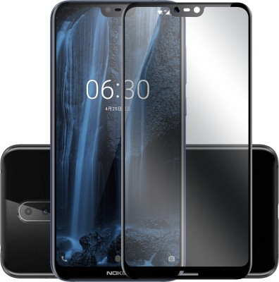 Hupshy Tempered Glass Guard for Nokia 6.1 Plus(Pack of 1)