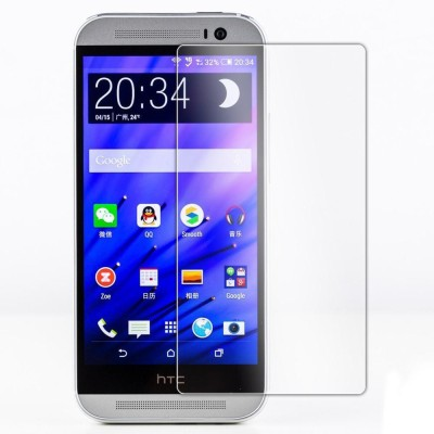 Fashion And Protection Tempered Glass Guard for HTC One M8