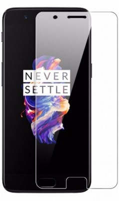 HRV Tempered Glass Guard for OnePlus 5 GOLDEN SERIES Premium Quality Screen Protector Tempered Glass Screen Guard [Full Screen Coverage] [Bubble Free] [Anti-Fingerprint](Pack of 1)