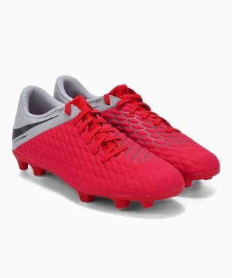 Nike HYPERVENOM 3 Football Shoes For Men(Red) 1
