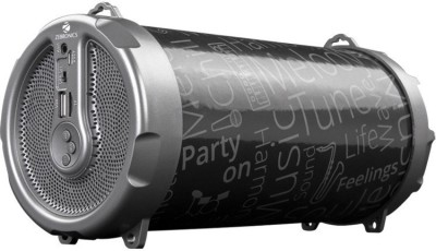 Zebronics Bazooka Wireless Bluetooth Speaker(Black, Stereo Channel)