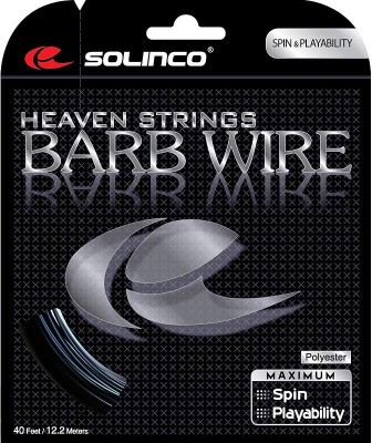Solinco Barb Wire 16 String 16 Tennis String   12.2 m Black