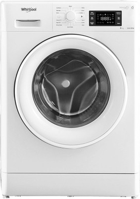 Whirlpool 8 kg Fully Automatic Front Load Washing Machine White(Fresh Care 8212) (Whirlpool)  Buy Online