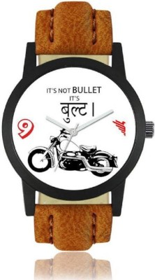 HK New Arrival and Fency 2018 Festivel Season Special Foxter_Bullet_Brown Analog Watch  - For Men