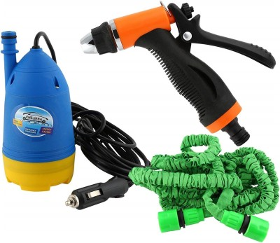 Three Secondz Best Portable High Pressure Home and Car Electric Pressure Washer with Water Gun with 10m Special Hose Pipe Submersible Pumps Electric Pressure Washer