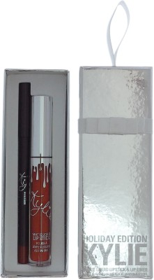 Kylie Jenner Holiday Edition Merry Lip Kit(Set of 2)