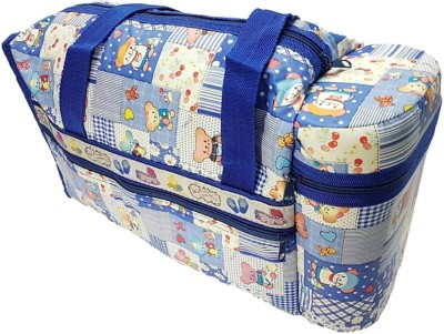 stockhawkers baby diapers mothers bag with attached bottle warmers baby diapers bag(Blue)