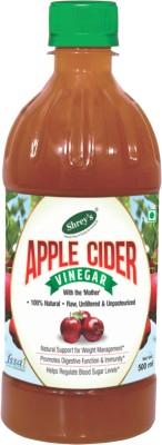 Shrey's Natural, Raw, Unfiltered & Unpasteurized Apple Cider Vinegar(Apple Flavored)