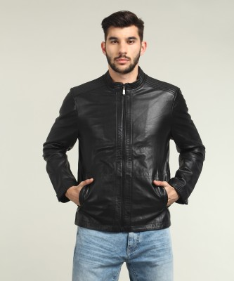Wrangler Full Sleeve Solid Men Jacket at flipkart