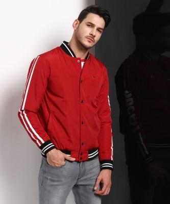 Peter England University Full Sleeve Self Design Men Casual  Jacket