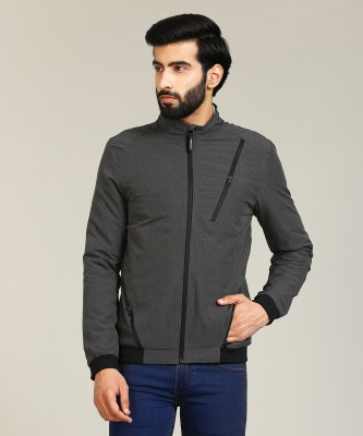 Flying Machine Full Sleeve Solid Men Jacket at flipkart