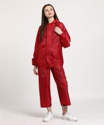 Wildcraft Solid Women Raincoat