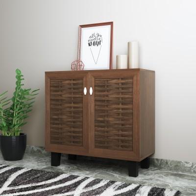 @home by Nilkamal Dane Small Engineered Wood Shoe Rack(3 Shelves)