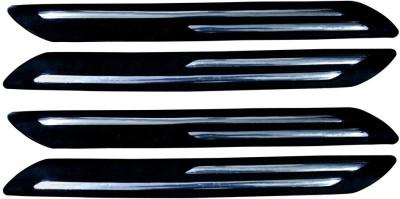 Auto Pearl Plastic, Stainless Steel Car Bumper Guard(Black, Silver, Pack of 4, Maruti, Ertiga) at flipkart