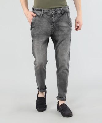 Highlander Slim Men Grey Jeans