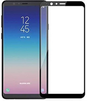 Ultra Clear Edge To Edge Tempered Glass for Samsung Galaxy A8 Star (5D Tempered glass)(Full Glue Glass)(Pack of 1)