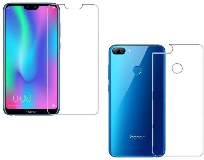 FIRST MART Front and Back Screen Guard for Honor 9N(Pack of 1)