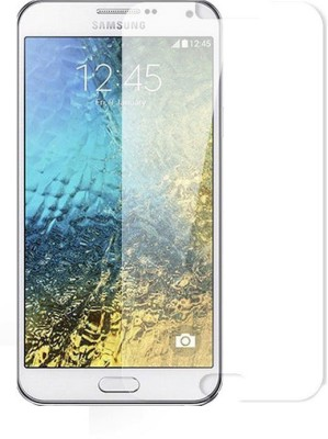 Wealthogics Screen Guard for SAMSUNG GALAXY E7(Pack of 1)