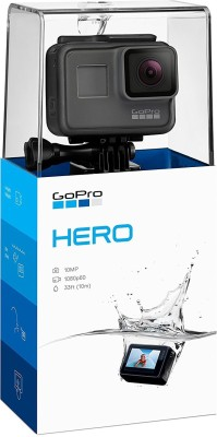 GoPro Go Pro Hero Sports and Action Camera (Black 10 MP) Sports and Action Camera(Black 12 MP)