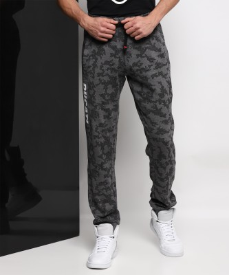 Ducati Solid Men's Black Track Pants at flipkart
