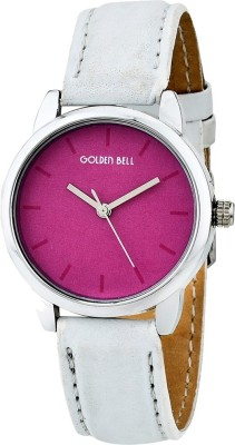Golden Bell 007GBK Pretty Pink Analog Watch For Boys