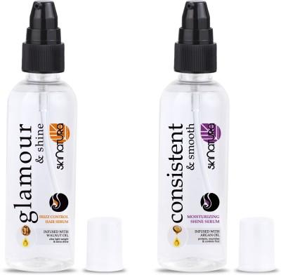 Skinatura Glamour & Shine + Consistent & Smooth Hair Serum(200 ml)