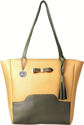 LADY BAR Women Beige Hand held Bag LADY BAR Handbags