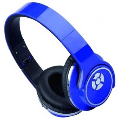 True Shop Extra Bass High Quality IN - 934 Bluetooth Headset with Mic(Blue, Over the Ear)
