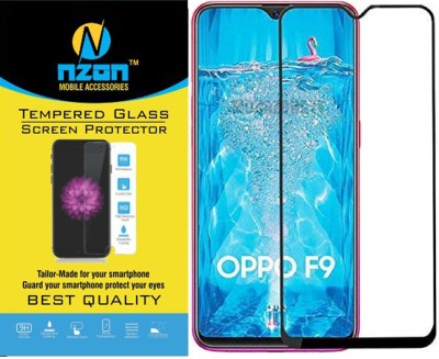 nzon Edge To Edge Tempered Glass for Oppo F9, OPPO F9 Pro, Realme 2 Pro, Realme U1, Realme 3 Pro(Pack of 2)