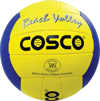 COSCO Beach Volleyball   Size: 4 Pack of 1, Multicolor COSCO Volleyballs