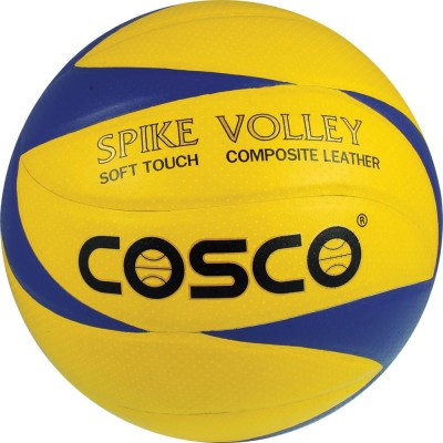 Cosco Spike Volleyball - Size: 4(Pack of 1, Multicolor)
