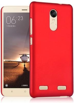 Sweven Back Cover for Lenovo K6 Note Red