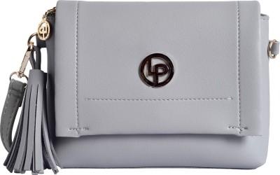 LINO PERROS Grey Hand held Bag LWSL00381GREY LINO PERROS Sling Bags