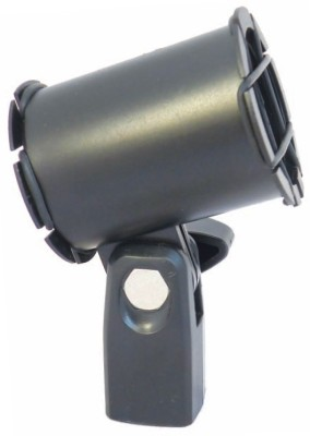 MX Microphone Holder with Anti Shock and Rubber Suspension For Microphones Mic Holder(Black)