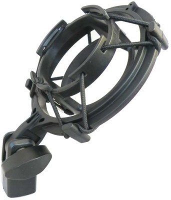 MX Microphone Holder with Anti Vibration For Microphones Mic Holder(Black)