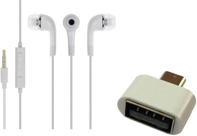 MOBILE LINK Headphone Accessory Combo for samsung headphone 318(White)