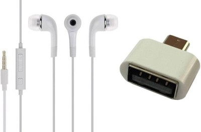 MOBILE LINK Headphone Accessory Combo for samsung headphone 319(White)