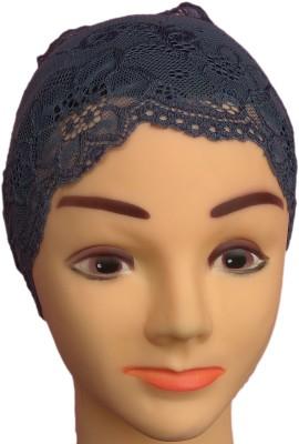 Hejabiya Self Design Cotton Lace / Net Cap Hejabiya Women's Caps